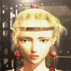 Terra in an FMV from <i>Anthology</i>, wearing a Slave Crown.
