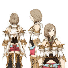 Ashe's concept art. Artwork by <a href=