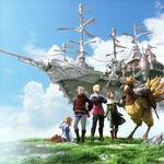 FinalFantasyIII PSP Artwork
