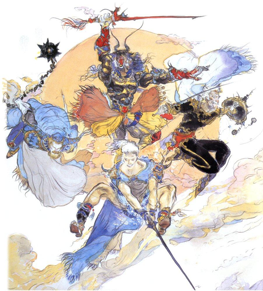 Warriors Of The Dawn Dramawiki: Final Fantasy Wiki