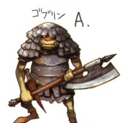 Early concept art of the Goblin.