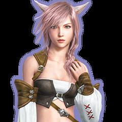 Miqo'te Dress in <i>Lightning Returns: Final Fantasy XIII</i>.