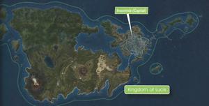 Lucis Map FFXV