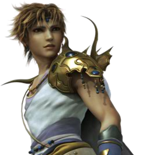 FMV render of Bartz from <i>Dissidia Final Fantasy</i>.