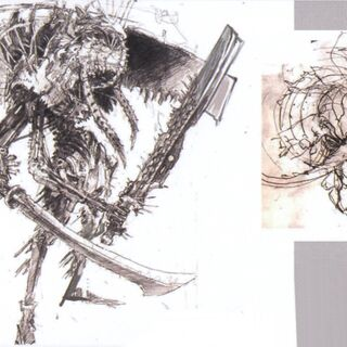 Artwork of Gilgamesh if he had appeared in <i>Final Fantasy XIII</i>.
