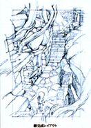 Conde Petie Hallway FFIX Art 1