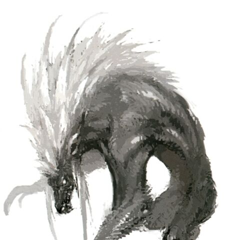 Concept art of a Gnole.
