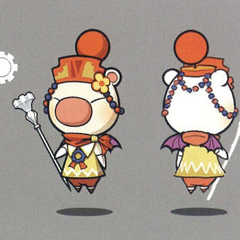 Artwork of the moogle of Class Fourth.