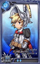 FF3 Knight R I Artniks