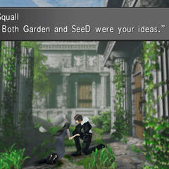 Edea meets Squall.