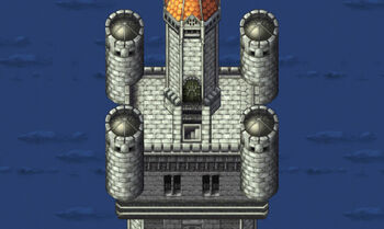 Right tower