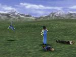 FFVIII Rinoa Pre-Battle Pose