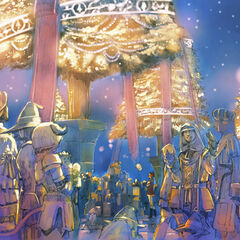 2007 Starlight Celebration artwork for <i>Final Fantasy XI</i>.