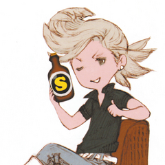 Ringabel with SP Drink.