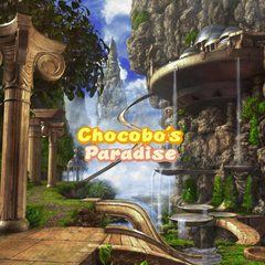 Arrival in Chocobo's Paradise.