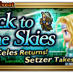 Global event banner for Back to the Skies.