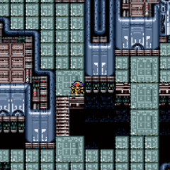 The Japanese dungeon image for <i>Tower of Babil - Depths</i> in <i><a href=