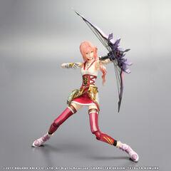 Serah's <i>Final Fantasy XIII-2</i> Play Arts KAI figure.