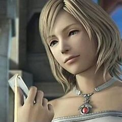 Ashe during the ending of <i>Final Fantasy XII</i>.