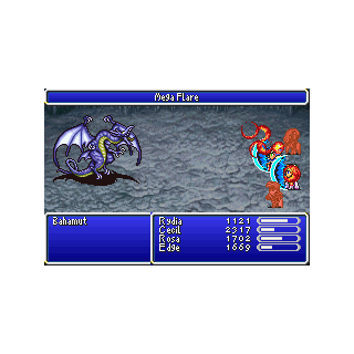 Mega Flare (GBA).