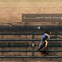 Squall carrying an unconscious Rinoa.