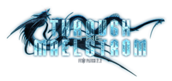Logo de Through the Maelstrom.