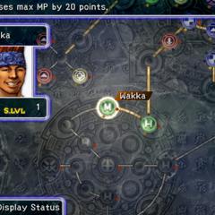 Wakka's Sphere Grid (PS2).