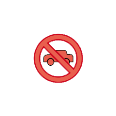 Blockade icon.