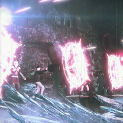Dominion's magic cannons.