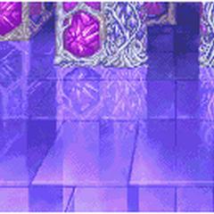 Castle Pandemonium's lower floors' battle background (GBA).