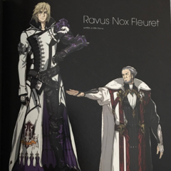 Artwork with Ravus.