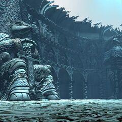 Art of <i>Final Fantasy IX</i> backgrounds by Behrooz Roozbeh.