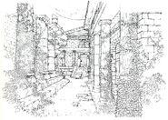 Edea's Orphanage FF8 Art 3