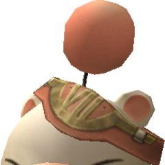 Model of the moogle of Class Seventh.