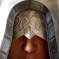 A portrait of Ravus from the E3 2013 trailer for <i>Final Fantasy XV</i>.