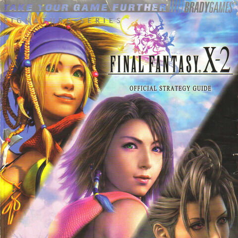 <i>FFX-2</i> cover.
