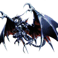 Bahamut's concept art for <i>Final Fantasy VIII</i>.