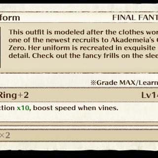 Rem's Uniform item