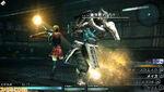 Cinque Fighting Final Fantasy Type 0