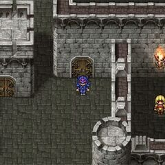 Outside of Baron Castle (PSP).