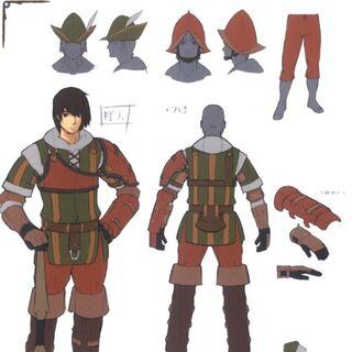 Concept art of a Ranger.