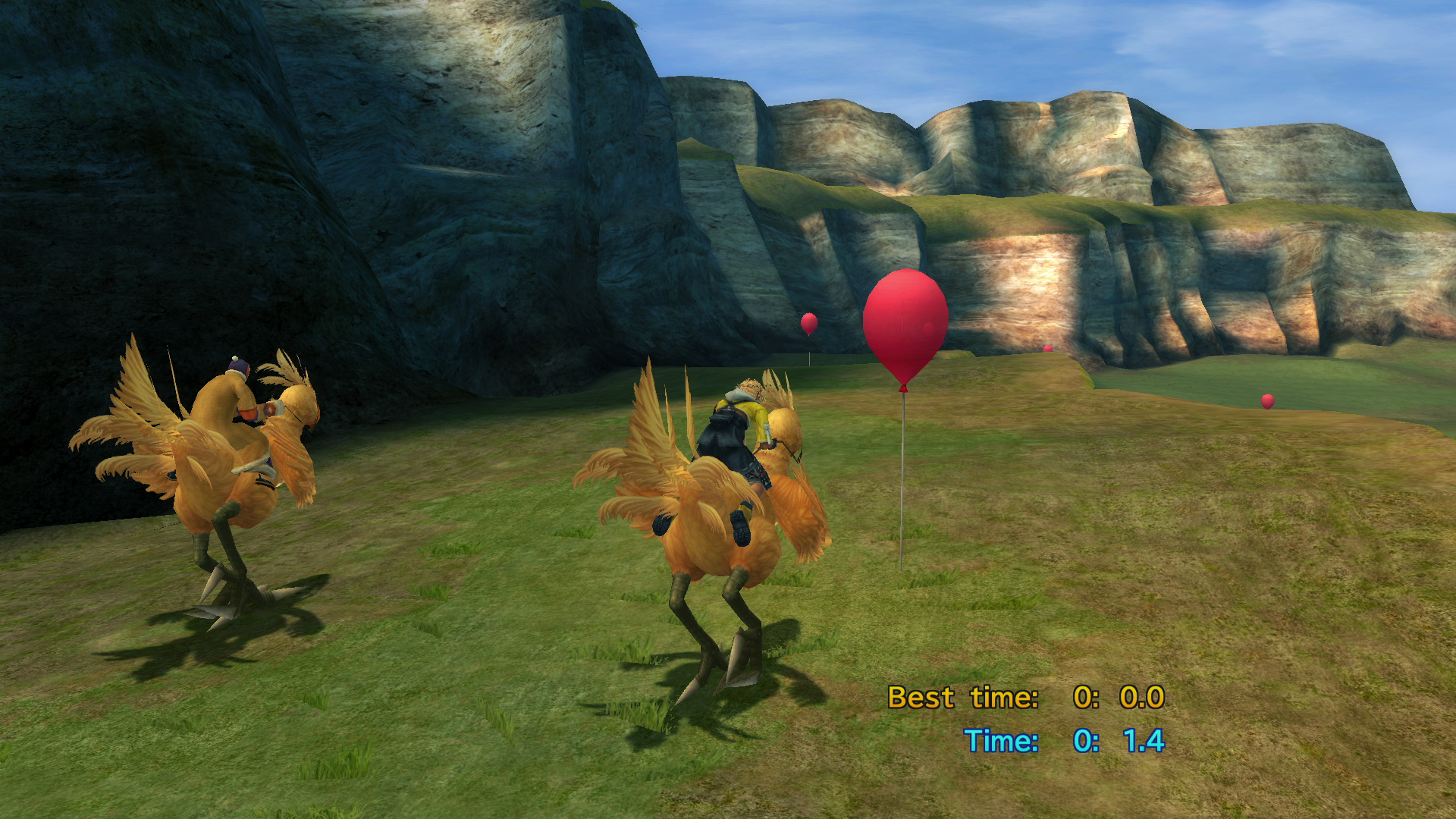 Image result for chocobo racing ffx