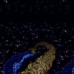 Battle background (Final Battle) (SNES).