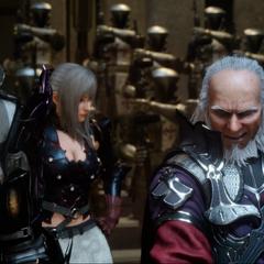 Aranea with Ravus and Verstael.