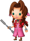 Aerith dans Theatrhythm Final Fantasy