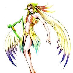 Alternative concept art for <i>Final Fantasy VIII</i>.