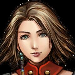 Yuna's Warrior portrait.