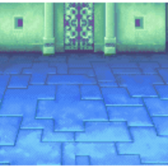 Sky Castle battle background in <i><a href=