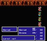 FFIII NES Level Up
