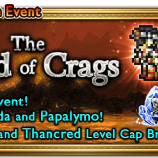 Global event banner for The Lord of Crags.